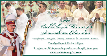 Archbishop's Dinner for Seminarian Education