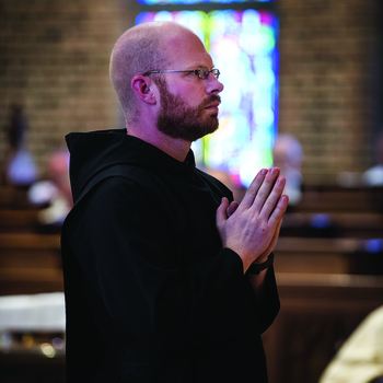 Br. Peter Shults makes solemn vows at St. Gregory's Abbey