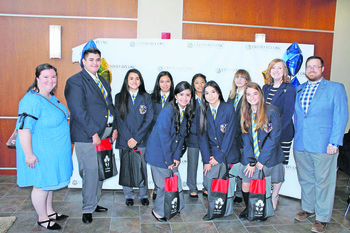 "Archdiocese selects Cristo Rey OKC students at ""Draft Day"""