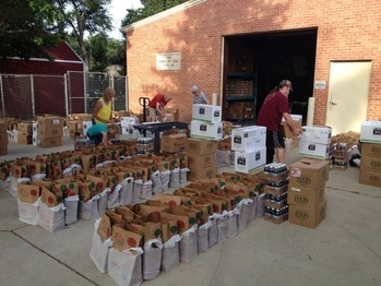 Dorothy Day Center commemorates service to hunger relief