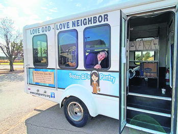 Sr. BJ's Pantry gains new bus to deliver meals, hope