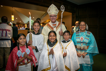 American Indian Catholics celebrate faith, culture