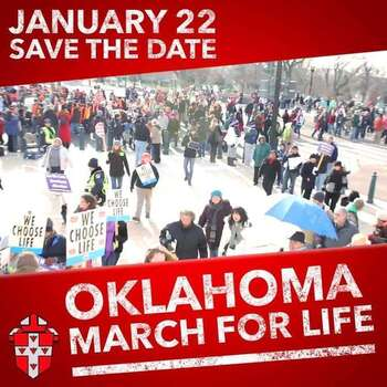 Oklahoma March for Life, pro-life events coming in January