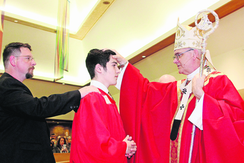 Archdiocesan leaders seek input on lowering Confirmation age