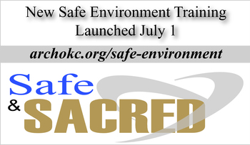 Archdiocese announces new safe environment training program