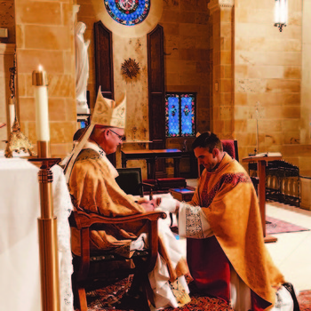 "Oklahoma City priest ""re-ordained"" after learning of invalid baptism"