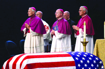 Bishop says Father Kapaun conformed his life to Christ, 'giving all he had'