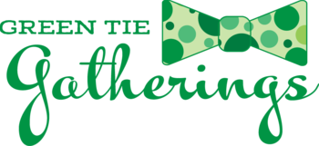 "Green Tie Gatherings ""at home"" event for Catholic Charities"