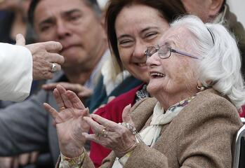 Pope to grandparents, all elderly people: 'You are needed'