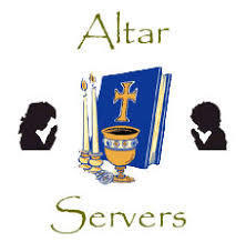 MINISTRY OF THE MONTH-ALTAR SERVERS