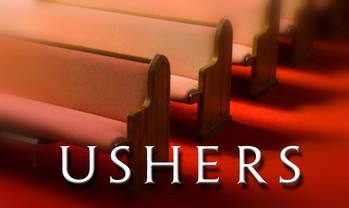 NEEDED: USHERS FOR ALL MASSES