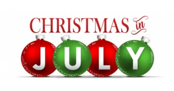 Click here for <br />Christmas in July <br /> Parish Yard Sale