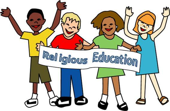 Click here for <br /> Religious Education Registration <br /> and Program Information