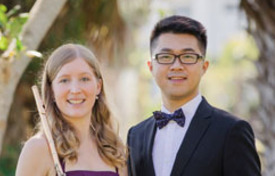 Moments in Time - featuring Flutist, Angela Massey and Pianist Hsin-I Huang April 23, 7:00 P.M.