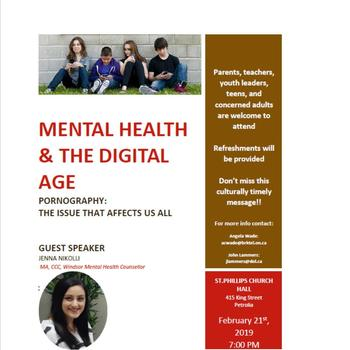 Mental Health & The Digital Age