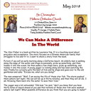 May, 2018 Newsletter