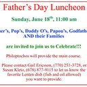 Philoptochos Father's Day Luncheon