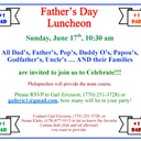 Father's Day Luncheon