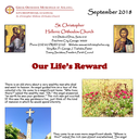 Our September, 2018 Newsletter can be viewed online
