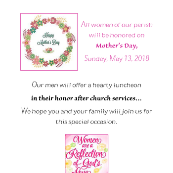 Mother's Day Luncheon