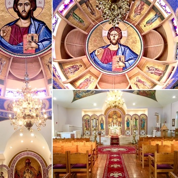 Orthros & Divine Liturgy at Annunciation Cathedral in Atlanta