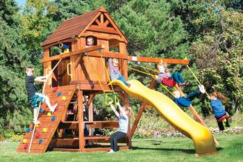 New outdoor play set for our youth