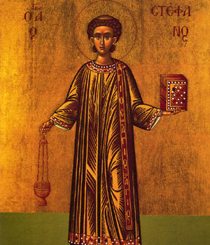 Eve of Feast of St. Stephen, Archdeacon & First Martyr