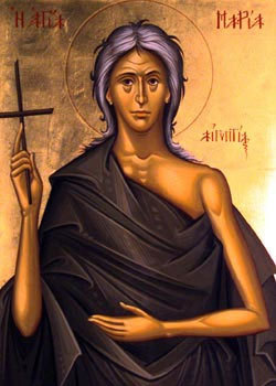 Sunday of St. Mary of Egypt
