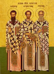 Feast of the Synaxis of the Three Hierarchs