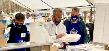 Greece on the Go A Success - Thanks to our supporters and volunteers for this year's effort!