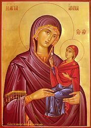 The Conception by St. Anna of the Most Holy Theotokos