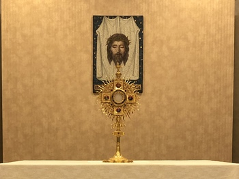 Eucharistic Adoration is CANCELLED
