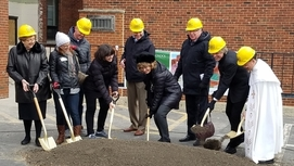 Groundbreaking Day for St. Joseph School!