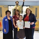 St. Francis Xavier student places 4th in Stamp Art Contest
