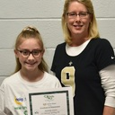 Congratulations, Kennedy Graves who placed in the top 10 in City-wide Spelling Bee!