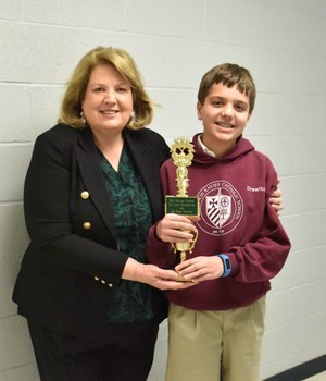 SFX student places 3rd in city-wide Spelling Bee