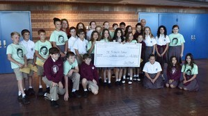 St. Francis Xavier Young Vincentians Earn Brown Foundation Grant