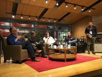 Fr. Shawn and other panelists offer Young Adults insights on living the faith...