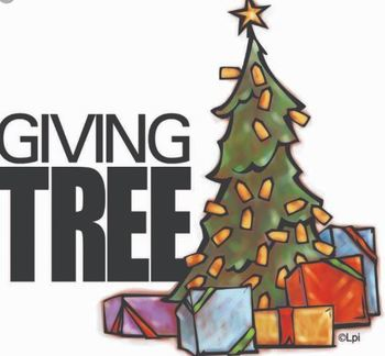 ANNUAL GIVING TREE GIFTS BY DEC 12TH