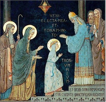 Presentation of the Blessed Virgin Mary Feast Day