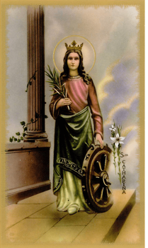 St. Catherine of Alexandra Feast Day