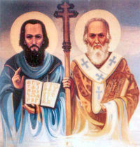 St. Cyril, Monk & St. Methodius, Bishop