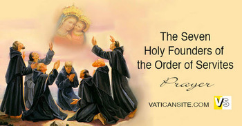 Seven Founders of the Order of Servites, Religious