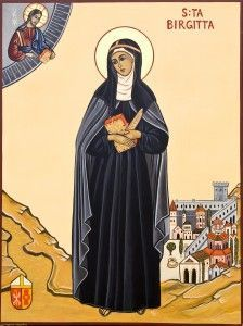 St. Bridget of Sweden, Religious