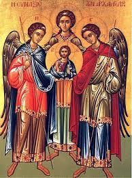 Sts Michael, Gabriel, and Raphael, Archangels