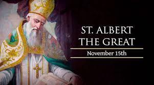 St. Albert the Great, Bishop & Doctor of the Church
