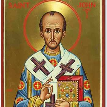St. John Chrysostom, Bishop & Doctor of the Church