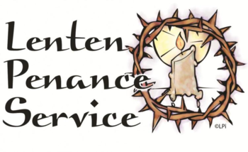 Cancelled - Lenten Penance Service