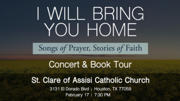 David Haas - I Will Bring You Home Concert and Book Tour