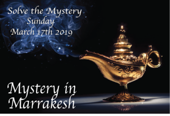2019 Mystery in Marrakesh